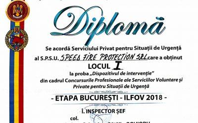 Concursurile Profesionale ale Serviciilor Private pentru Situații de Urgență – Etapa I – Iunie 2016
